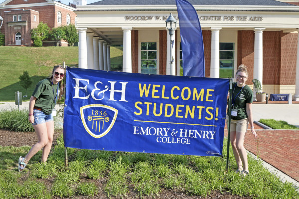 Emory & Henry welcomes the class of 2022!