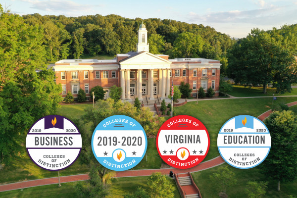 Emory & Henry College Championed as a College of Distinction