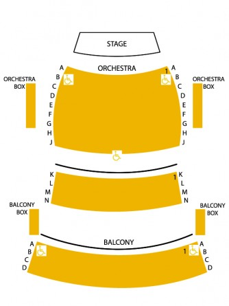 Kennedy-Reedy Theatre layout