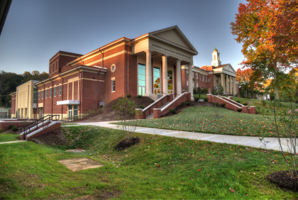 The Woodrow W. McGlothlin Center for the Arts is the home to the visual and performing arts here ...