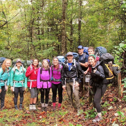 Hiking and Backpacking Course on the Appalachian.