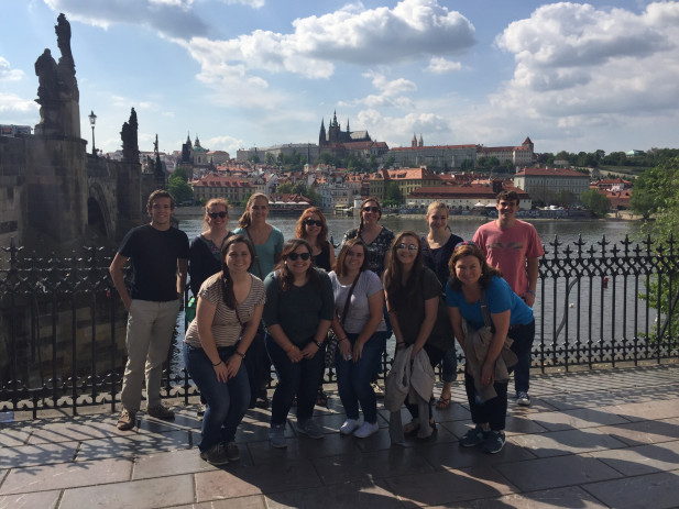 PSYC 340 students in Prague, Czech Republic study the social psychology of the Holocaust.