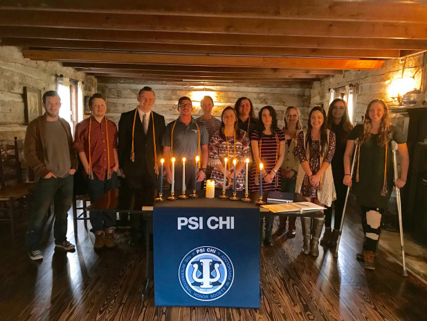 Psi Chi Induction Fall 2017