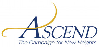 This is the logo for E&H's Ascend campaign.