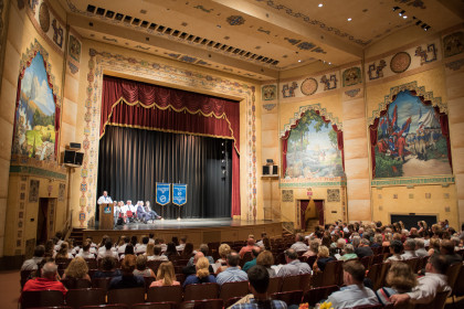 Each year our White Coat Ceremony is held at the Historic Lincoln Theater in downtown Marion, VA