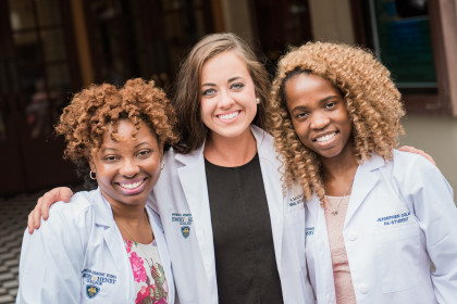Pictures from the Emory & Henry College Master of Physician Assistant Studies Program White C...