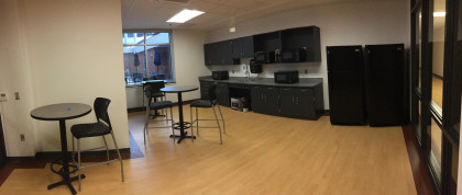 One of our student kitchens located in the SHS Building.