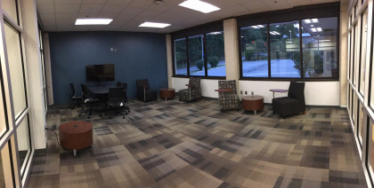 One of our large student study spaces.