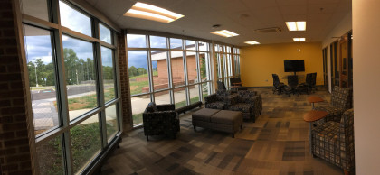Another one of our large student study spaces.