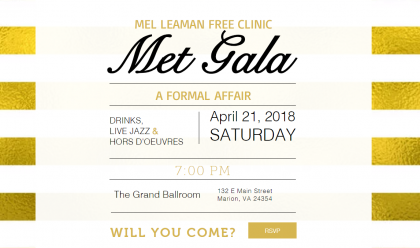 Met Gala Ticket: In April 2018, the E&H MPAS Class of 2019 helped to host the Mel Leaman Free...