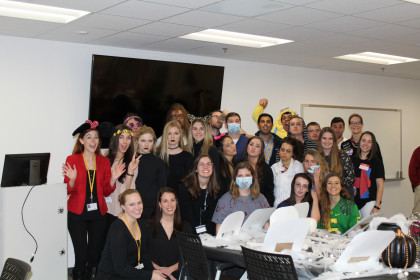MPAS Class of 2019: Taking a break from classes to celebrate Halloween PA style!