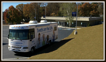 The Clinic's mobile unit, used to provide services to patients who reside outside of Smyth ...