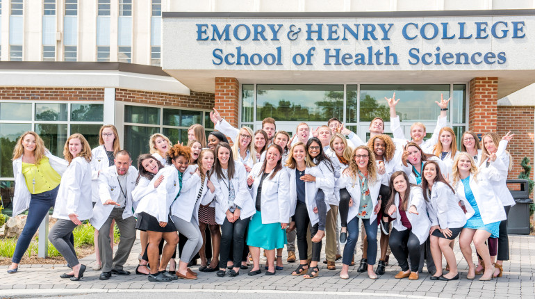 The E&H MPAS Class of 2020. Picture taken in front of the E&H SHS Building in beautiful M...