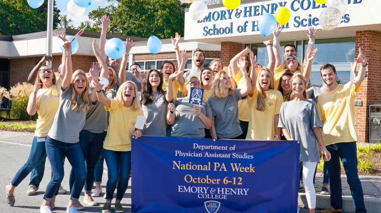 E&H MPAS Class of 2021 - Celebrating National PA Week