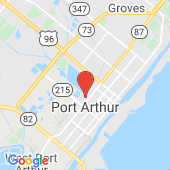 Map of Port Arthur, TX