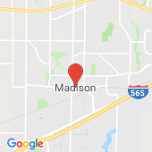 Map of Madison, Alabama