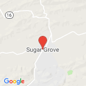 Map of Sugar Grove, VA