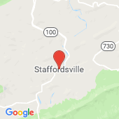 Map of Staffordsville, Virginia