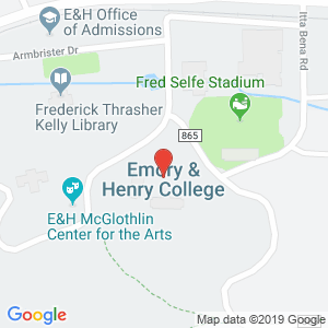Map of Emory & Henry College 24327