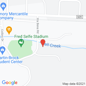 Map of Marching Band Building