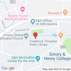 Map of Kelly Library