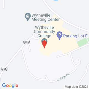 Map of wytheville community college