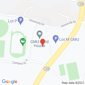 Map of 4400 University Dr, Fairfax, VA 22030